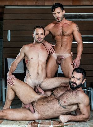 Victor D'Angelo, Drake Rogers and Andy Star suck and fuck
