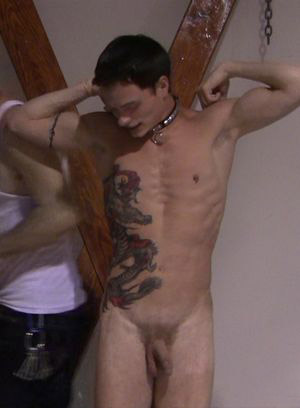 Master Tye torments and fucks Justen Collins