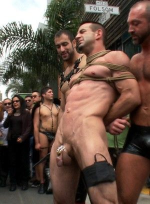 Josh West is stripped naked, used and humiliated
