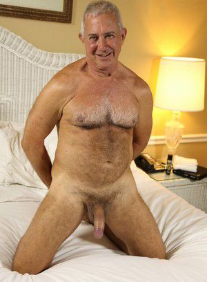 Dick Ryan shows off his hard cock