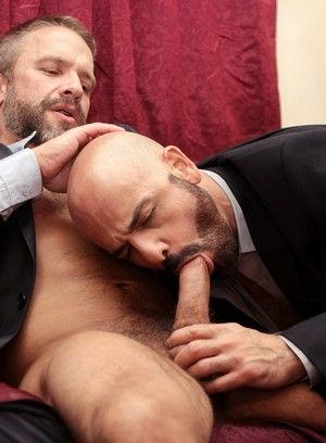 Adam Russo and Dirk Caber suck and fuck each other