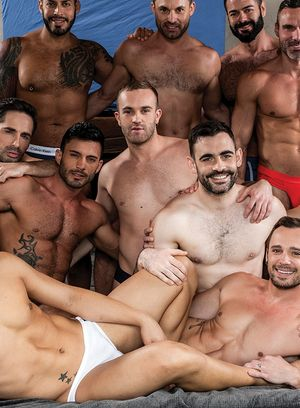 Drake Rogers, Andy Star, Jackson Radiz, James Castle, Ken Summers, Max Arion, Victor D'Angelo, Manuel Skye, Michael Lucas, Andrey Vic and Viktor Rom suck and fuck