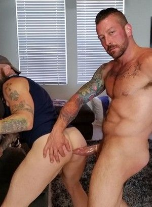 Greg York and Hugh Hunter fuck each other