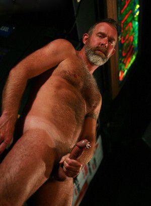 Jack Sullivan rubs his meat