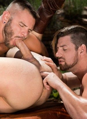 Brian Bonds, Nick Sterling and Andrew Stark fuck each other