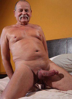 Joe Sharp shows off his fat cock