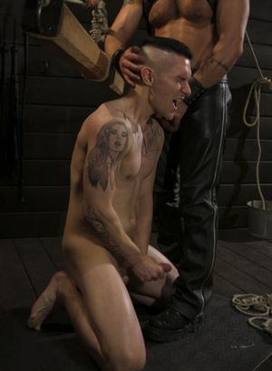Dominic Pacifico tortures and fucks Zak Bishop