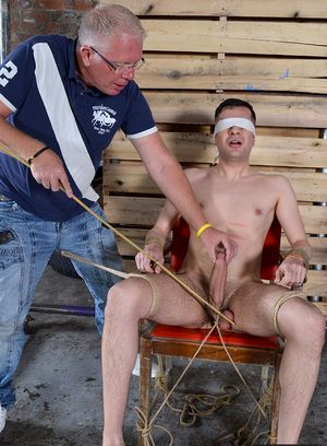 Mason Madison gets his balls abused and drained