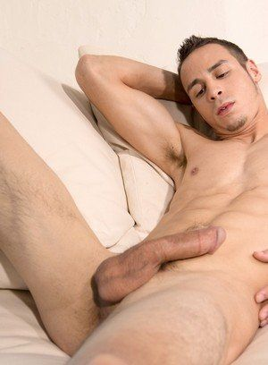 Cooper Adams shows off his body