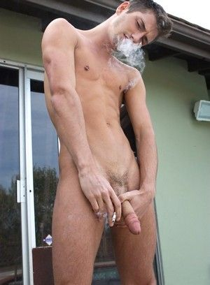 JD Phoenix Smoking Outdoors