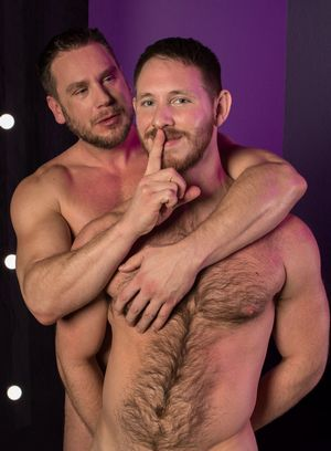 Spencer Whitman and Sean Knight fucks Hans Berlin