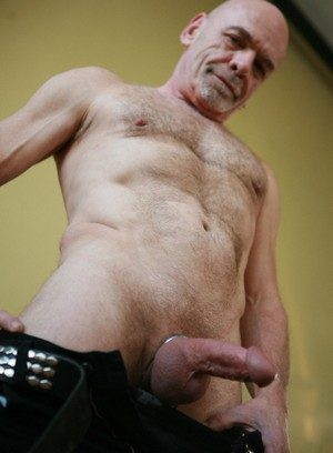 Matt Denis strokes his hard dick