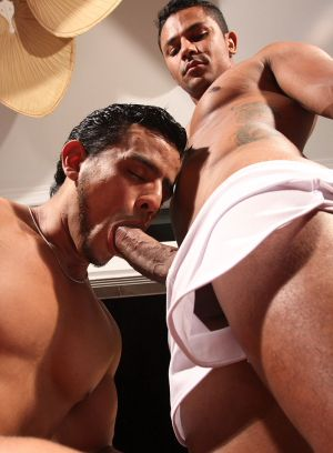 Marcello Mastro and Igor DaSilva suck and fuck each other