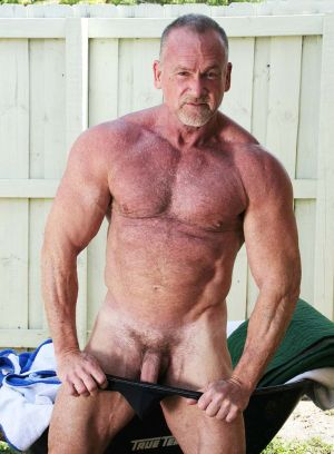 Mickey Collins, mature, Daddy, bear, solo