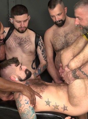 Gaping Gay Holes Gangbanged