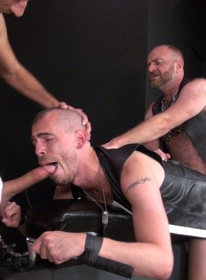 Super Steve and his buddies tease each others cocks