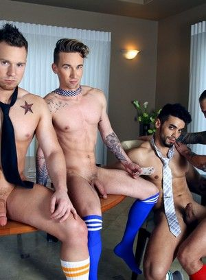 Jaxon Colt, Ashton Webber, Arad, Owen Michaels, Anal Sex, Blowjob, Muscular, Orgy, Rimming
