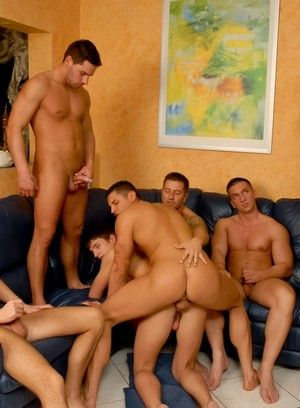 Claudio Antonelli, Chris Hacker, Igor Kravchuk, Solten Talton, Tom Ryan, Anal, Bareback, Group Sex, Hardcore, Twinks