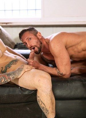 anal sex big dick blowjob euro muscle men nick north pornstar rimming tattoo
