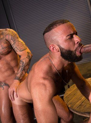 anal sex big dick bodybuilder daymin voss fernando del rio hairy michael roman pornstar rimming tattoo