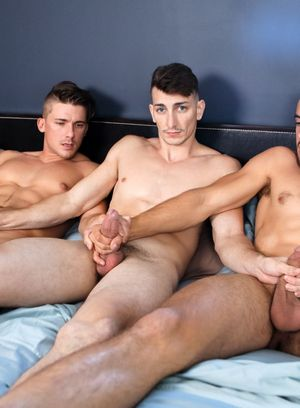 Dante Colle, Michael Jackman and Jake Porter suck and fuck