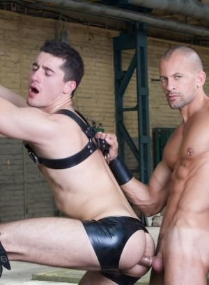 Bruno Lopez, Jay Roberts, German, Leather, Rubber