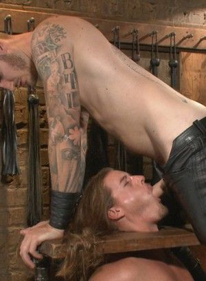 Kip Johnson gets tied up and fucked Christian Wilde