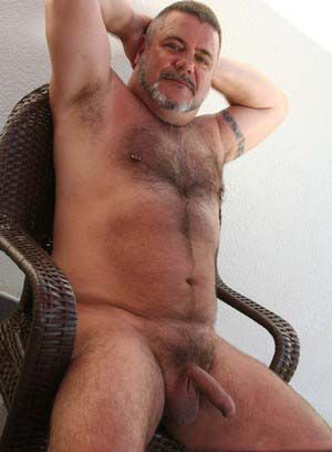 bald bear daddies fat hairy mature oceanbear pornstar solo