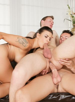 Nick Gill, Billie Star and Marcus suck and fuck