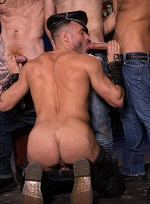 Jack Vidra, Jack Andy, Manuel Skye and CJ Phillips fuck each other