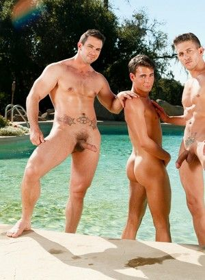 Phenix Saint, Alexander Gustavo and Max Penn fuck each other