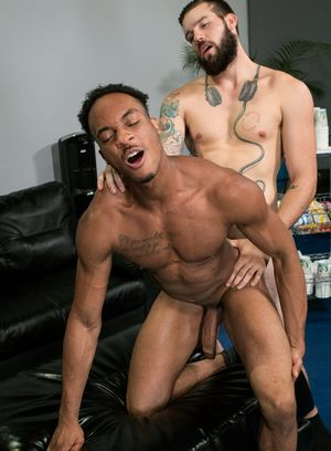 Buck Richards and Trent King fuck each other