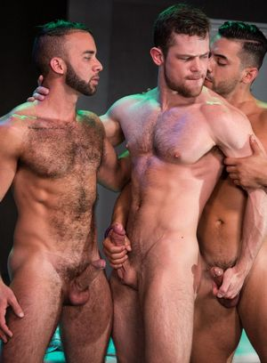 Fernando Del Rio, Arad Winwin and Kurtis Wolfe fuck each other