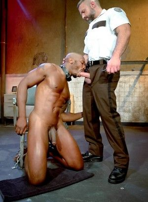 bdsm dirk caber oral pornstar race cooper restraints submission uniform