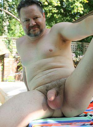 Collin Stafford strokes his big dick