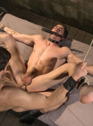 Jason Maddox torments and fucks Jack Hunter
