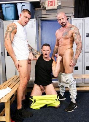 Darin Silvers, Sean Duran and Max Cameron fuck each other