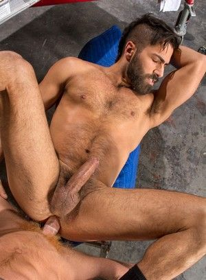 Adam Ramzi, Bennett Anthony, Anal, Big Dick, Boots, Interracial, Oral, Tattoos, Workers
