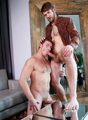 anal sex big dick blonde blowjob colby keller connor maguire flip flop muscle men pornstar red head rimming