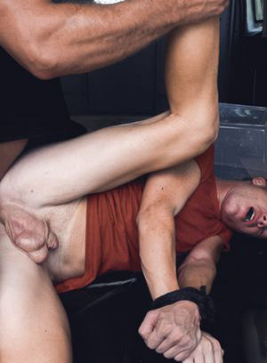 Jax gets tied up and fucked by Austin