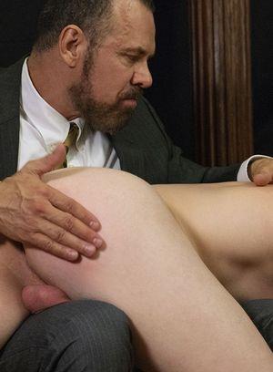 Elder Edwards gets spanked and fingered
