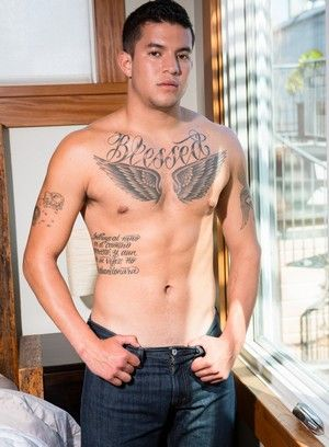 Joey Rico, Jerking off, Latino, Solo