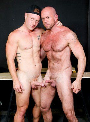 anal sex bald daddies matt stevens muscle men pornstar saxon west workers
