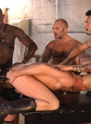 Butch Powell and Jesse Hamm gets pissed on and fucked