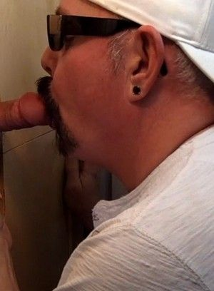 Tattooed gay in mad dick sucking scene