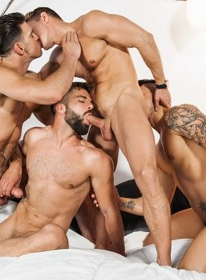 Nasty gays in wet and wild ass pounding