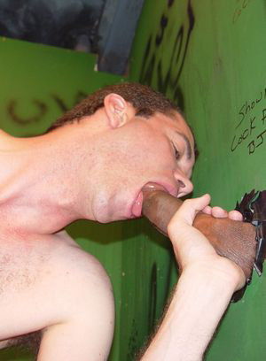 blowjob glory hole handjob