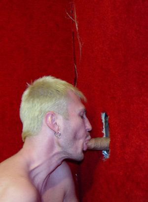 blowjob glory hole luke cross pornstar