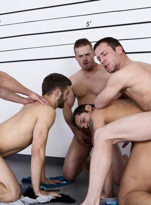 Trevor Knight, Tommy Defendi, Landon Conrad, Marcus Ruhl and Liam Magnuson suck and fuck