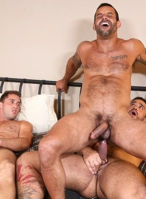 anal sex armando de armas big dick blowjob david benjamin jerking off pornstar rimming threesome trey turner